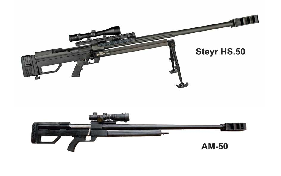 Iran copies Steyr sniper rifle and delivers it to conflict zones