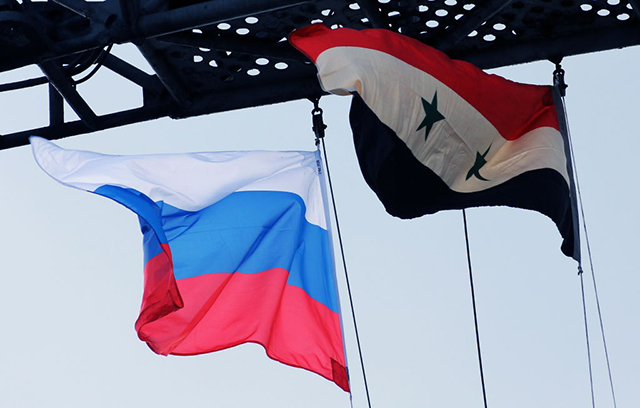 Russian flag fluttered in Daraa, and the Syrian regime won