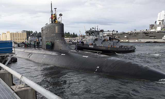 Chinese man-made object may have caused damage to USS Connecticut sub
