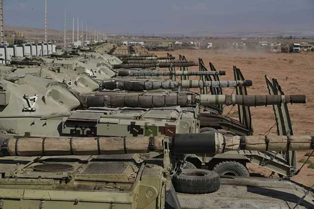 Iranian-troops-on-the-border-with-Azerbaijan.-Is-a-new-conflict-looming