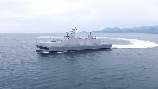 Taiwan urgently starts building 'Chinese aircraft carrier killers'